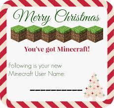 printable minecraft account gift certificate skrafty