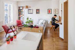 coin bureau dans salon comment créer un coin bureau si vous manquez d espace