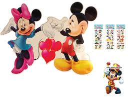 xxl disney mickey and minnie mouse wall sticker 33 xxl disney mickey and minnie mouse wall sticker 33