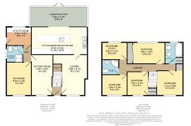 Walton House Floor Plan 5 Bed Semi Detached House For Sale In Walton Court Fareham Po15