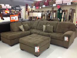 contemporary style living room with big lots sectional sofa and