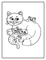 impressive cat color pages perfect coloring pa 9469 unknown