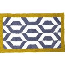 Grey Bathroom Rugs Yellow Bath Mats Yellow And Grey Bath Rugs Yellow Bathroom Mat