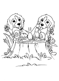puppy coloring pages getcoloringpages