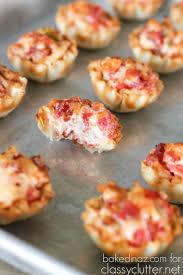 Genial Application Recette De Cuisine Bouchées De Tomates Et Bacon Dans Une Pâte Phyllo Recettes