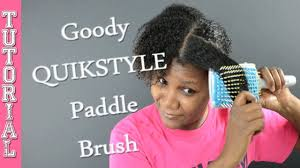 goody s hair 5 goody quikstyle microfiber brush on hair influenster