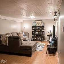modern basement design modern industrial basement makeover the diy mommy