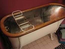 Copper Bathtubs For Sale Antique Tub Circa 1850 U0027s Copper Claw Foot W Original Oak Ring