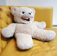 Meme Teddy Bear - creepy happy teddy bear funny pics memes funny pics creepy