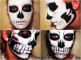 Halloween Skull Face Makeup by Halloween Tutorial Seriously Scary Skull The Mancunion
