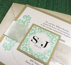 mint wedding invitations 33 best wedding invitations images on wedding