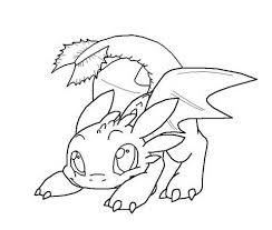 toothless dragon colouring pages 8 train