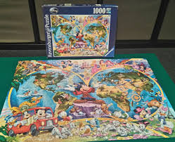 halloween jigsaw puzzles for adults ravensburger mickey mouse disney world map 1000 piece jigsaw