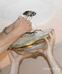 Removing Light Fixture How To Change Your Light Fixture In Seven Easy Steps