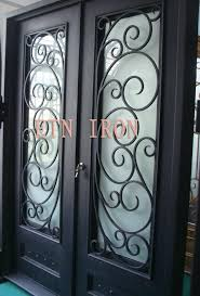 ornamental iron grill door etn d101 etn iron china manufacturer