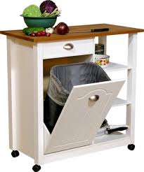 In Cabinet Trash Cans For The Kitchen Kitchen Impressive Tilt Out Kitchen Trash Can Cabinet Portable