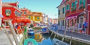 Burano Italy Murano Burano Torcello The Islands Of The Venitian Lagoon