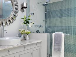 bathroom bathroom remodeling ideas mixed with round mirror in