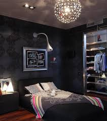 bedroom cool dark blue boy bedroom ideas and simple dark bedroom bedroom cool dark blue boy bedroom ideas and simple dark bedroom desigh black wallpaper wall plus black bed frame and bed sheet plus blunket under