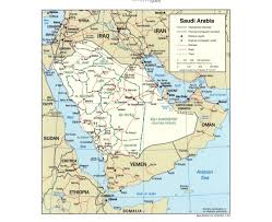 Map Of Abu Dhabi Maps Of Saudi Arabia Detailed Map Of Saudi Arabia In English
