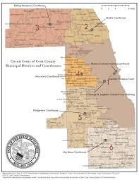 Illinois District Map by Organization Chart