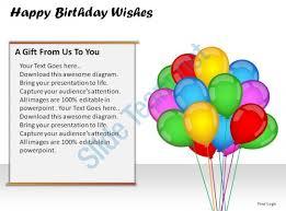 birthday wishes templates happy birthday wishes powerpoint presentation slides