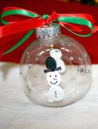 diy fingerprint snowman ornament walmart ornament and snowman