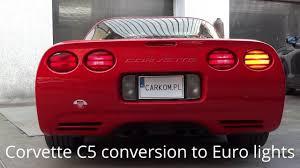 corvette c5 1997 conversion us taillights to