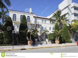 the versace mansion at ocean drive editorial image image 50263395