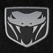 dodge viper logo dodge viper logo floor mats partcatalog com