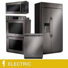 kitchen suites costco lg studio 4 piece electric 25 6cuft built in refrigerator kitchen suite in stainless