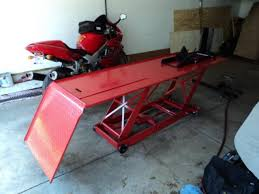 scissor lift table harbor freight anyone buy a harbor freight motorcycle lift superhawk forum
