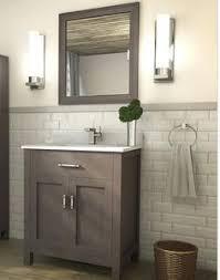 30 Inch Bathroom Vanity by Accanto Contemporary 30 Inch Grey Finish Bathroom Vanity Marble