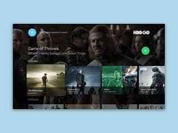 hbo go android hbo go android tv concept by andrew mialszygrosz dribbble