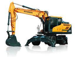 hw180 wheeled excavator