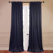 Tab Top Curtains Blackout 132 Inch Curtains Wayfair