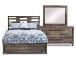 bravo storage bedroom set furniture row