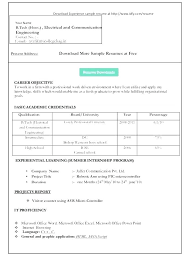 resume format download in word job resume templates modern job resume format download in ms word