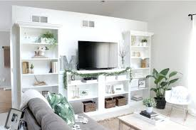 White Bookcase Ideas Cabinet Bookcase Wall Units Breathtaking Built In Bookcase