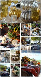 Fall Table Settings by A Harvest Of Fall Tablescapes And Inspiration U2013 Home Is Where The