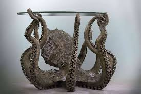 Octopus Home by The Steampunk Home Octopus Table