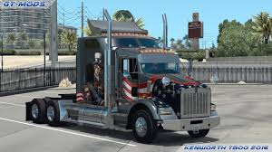 small kenworth trucks gt mods kenworth t800 2016 v0 1 american truck simulator mods