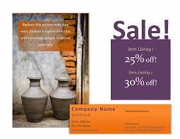 advertisement flyer template sample format