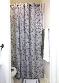 Dwell Shower Curtain - smart u0026 stylish solutions in a builder basic bathroom master
