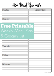 dinner order form template best 25 meal planning templates ideas on menu