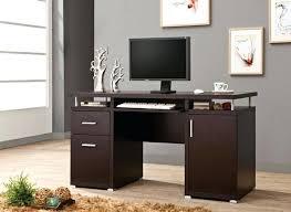 espresso desk with hutch espresso desk bush l shaped computer desk with hutch in espresso oak