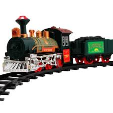 the bright northern lights railroad light up train set toy