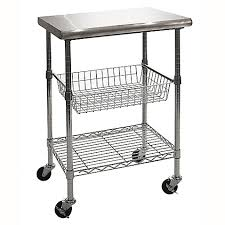 Stainless Kitchen Work Table by Seville Classics Stainless Steel Kitchen Work Table Cart Bed