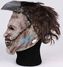 Texas Chainsaw Massacre Halloween Costume Gunnar Hansen Signed