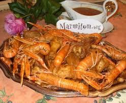 cuisiner les langoustines poulet aux langoustines recette de poulet aux langoustines marmiton